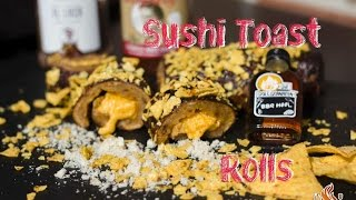 Sushi Toast Rolls vom Weber Holzkohle Grill Performer Deluxe mit BBQ Sauce - #tobiasgrillt