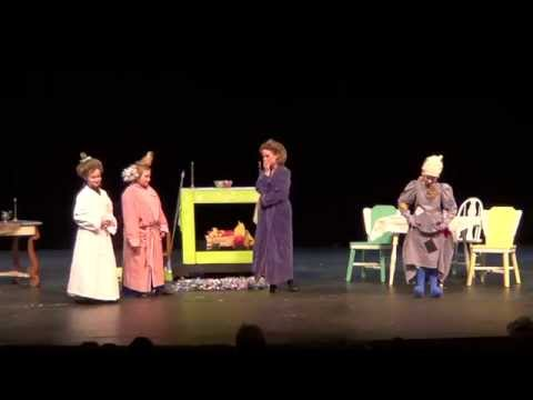 Curtain's Up Theater presents Cinderella or the Story of Big Foot Part One