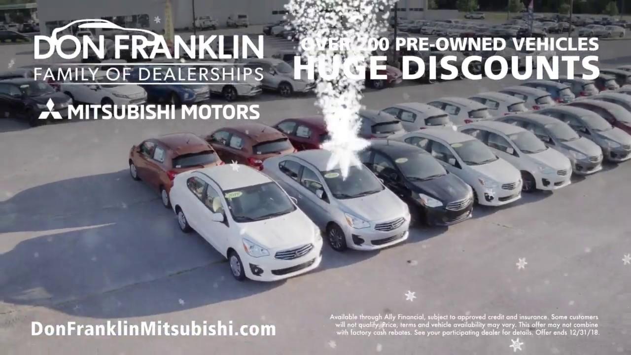 Don Franklin Mitsubishi >> Don Franklin Mitsubishi December Sales Event