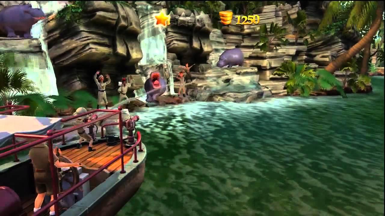 Disneyland Adventures Xbox 360 Kinect Jungle Cruise Hd