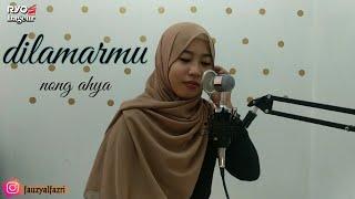 Download lagu DILAMARMU (MELAMARMU) BADAI ROMANTIC PROJECT | LIVE COVER NONG AHYA (LIRIK CEWEK)