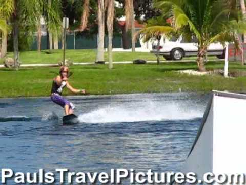 Ski Rixen Wakeboarding Video Clip Quiet Waters Park Deerfield Beach Fl