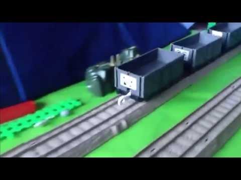 Thomas & Friends King of the Railway Runaway Trucks Trackmaster Remake