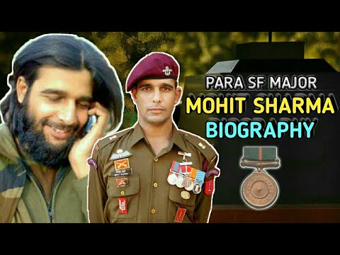 army officer biography format