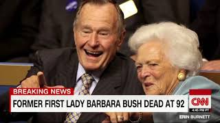 THE  FUNERAL  OF THE  FORMER  FIRST LADY BARBARA BUSH