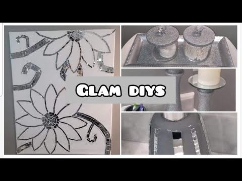 diy-mirror-mosaic-wall-art-|-diy-bathroom-decor-|-diy-home-decor