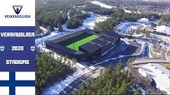 🇫🇮🇫🇮Finland Veikkausliiga Stadiums 2020  🇫🇮🇫🇮