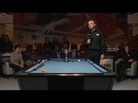 IPA World Pool Championships 2018 - End of Ladies' Final