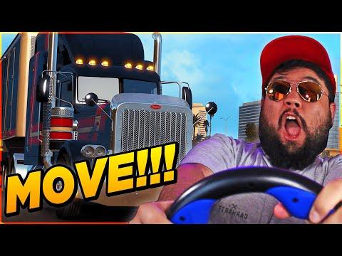 Hauling ILLEGAL Cargo In American Trucking Simulator *FUNNY* |