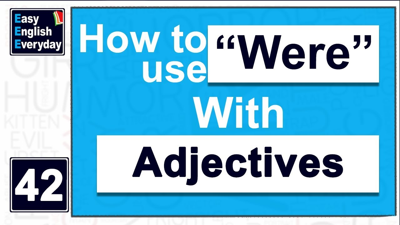 Worksheet How To Use A Adjective In A Sentence use adjective in a sentence how to were with examples