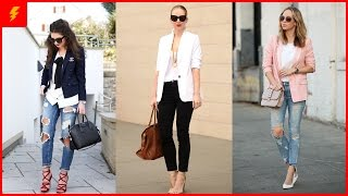 How To Wear Trendy Blazers For This Spring