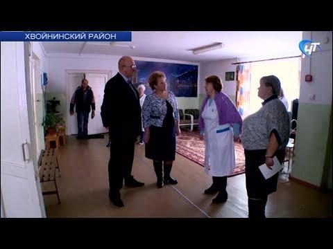 Елена Писарева посетила детский противотуберкулезный санаторий в Хвойнинской районе