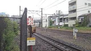 【貨物色‼️】8862レ EF65-2080号機牽引 東京メトロ丸ノ内線甲種輸送2000系2123F+ヨ8625横浜本牧行き 真砂踏切通過‼️