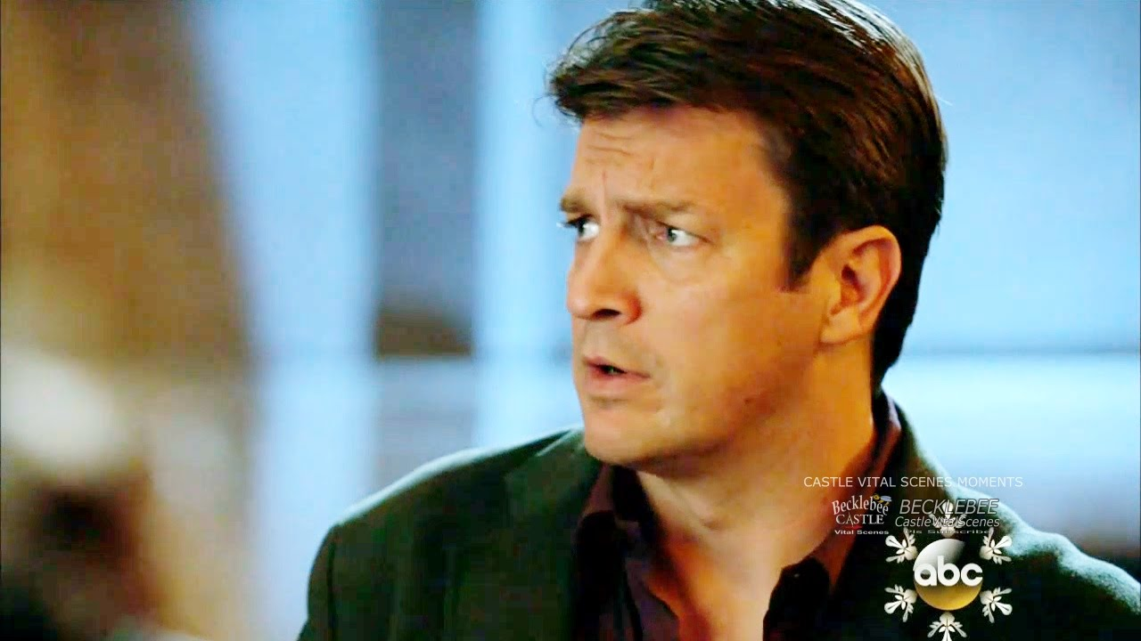 Castle 6x10 Moment Rhd In Child Care Ruggedly Handsome Dad The Good Bad And Baby