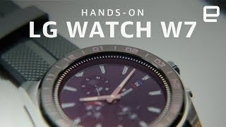 LG Watch W7 Hands-On: this hybrid is a mix of ambition and compromise