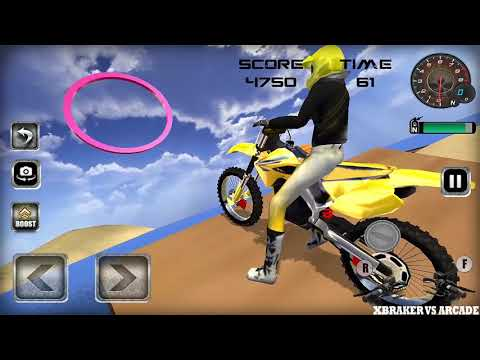 Beach Moto Racing Stunt Game 2018 Standard Mode - Android GamePlay FHD