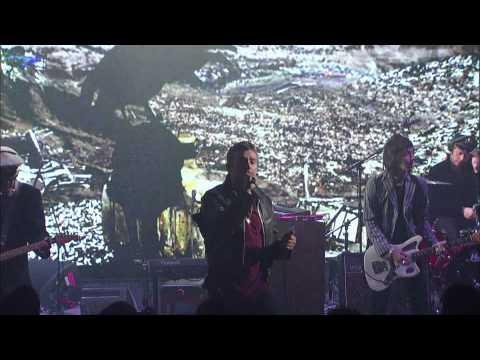 Gorillaz - O Green World (Live on Letterman)