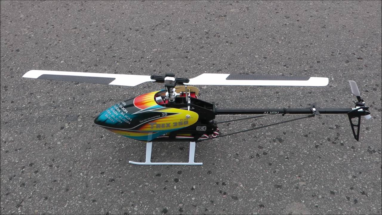 Align T-REX 250 PLUS DFC Super Combo RTF First Flight