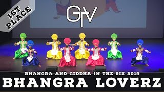 Bhangra Loverz - First Place @ Bhangra and Giddha in the 6ix 2019