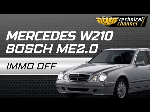 Mercedes W210 Bosch ME2.0 IMMO OFF with Julie Emulator