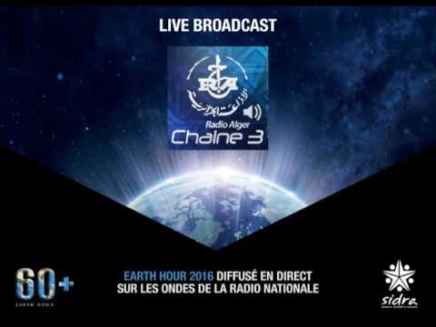 Live Radio Chaine 3 Earth Hour Algeria 2016