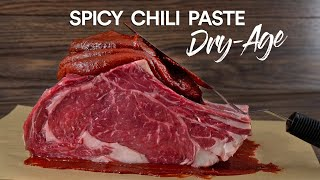 I Dry-Aged Steaks iฑ CHILI Paste and this happened!