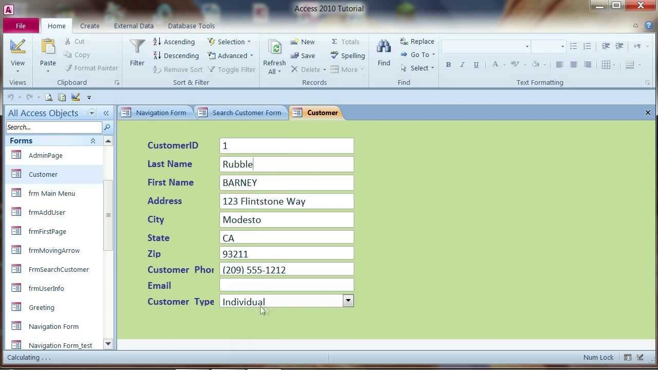 Open Link Form using Macro : MS Access 2010