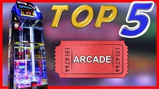 Top 5 Arcade Games To Win Tickets!