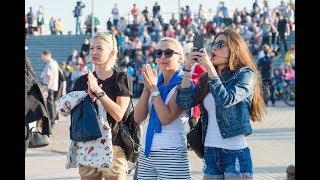 Город Спутник широко отметил День России