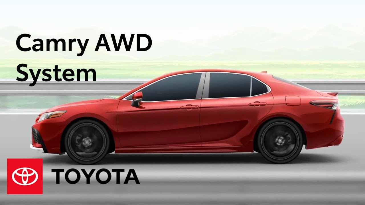 Camry AWD Features | Toyota