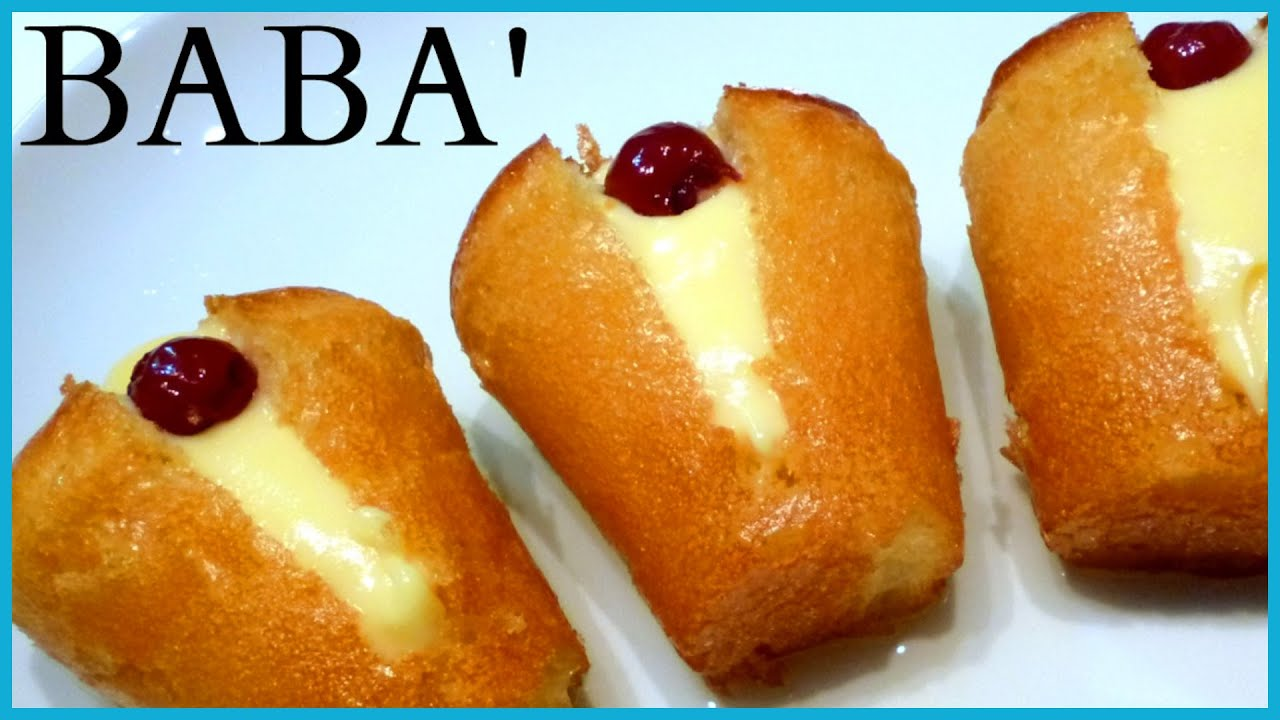 Baba Recipe By ItalianCakes