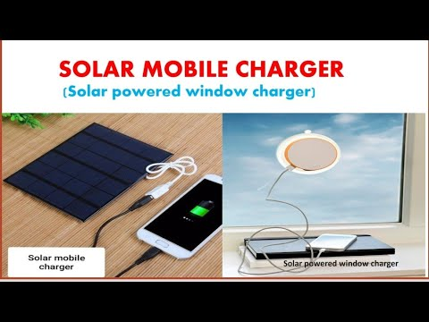 Solar mobile charger # Solar powered window charger # Solar gadget # Renewable energy gadget
