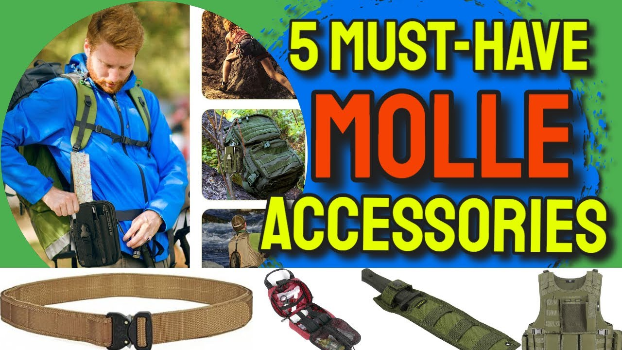 Download 5 Must-Have MOLLE Accessories for Everybody