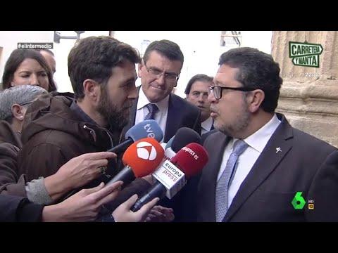 """Gonzo, a Serrano (Vox): """"Hay 15.000 mujeres en Andalucía que tienen que ser vigiladas"""""""