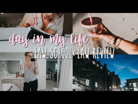 Day in The Life of a Law Student | Law School Vlog 41