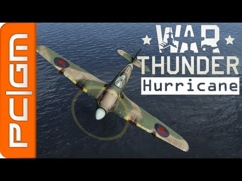 War Thunder : Hurricane Mk.I Mk.II - Attaque au Sol