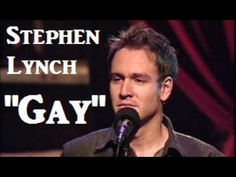 Stephen Lynch Gay W Lyrics