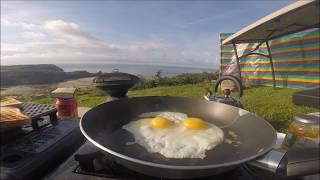 Three Cliffs Bay - Camping