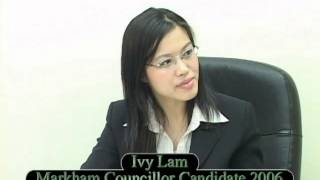 Ivy Lam interview, 20061019