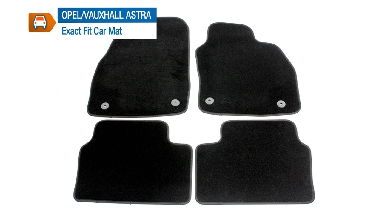 Floor mats exact fit - Opel Vauxhall Astra H Prestige Tailored Car Mat Set From Micksgarage Com