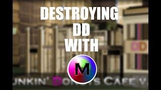 MML Admin?? ROBLOX Protosmasher Exploiting #10: Destroying Dunkin Donuts