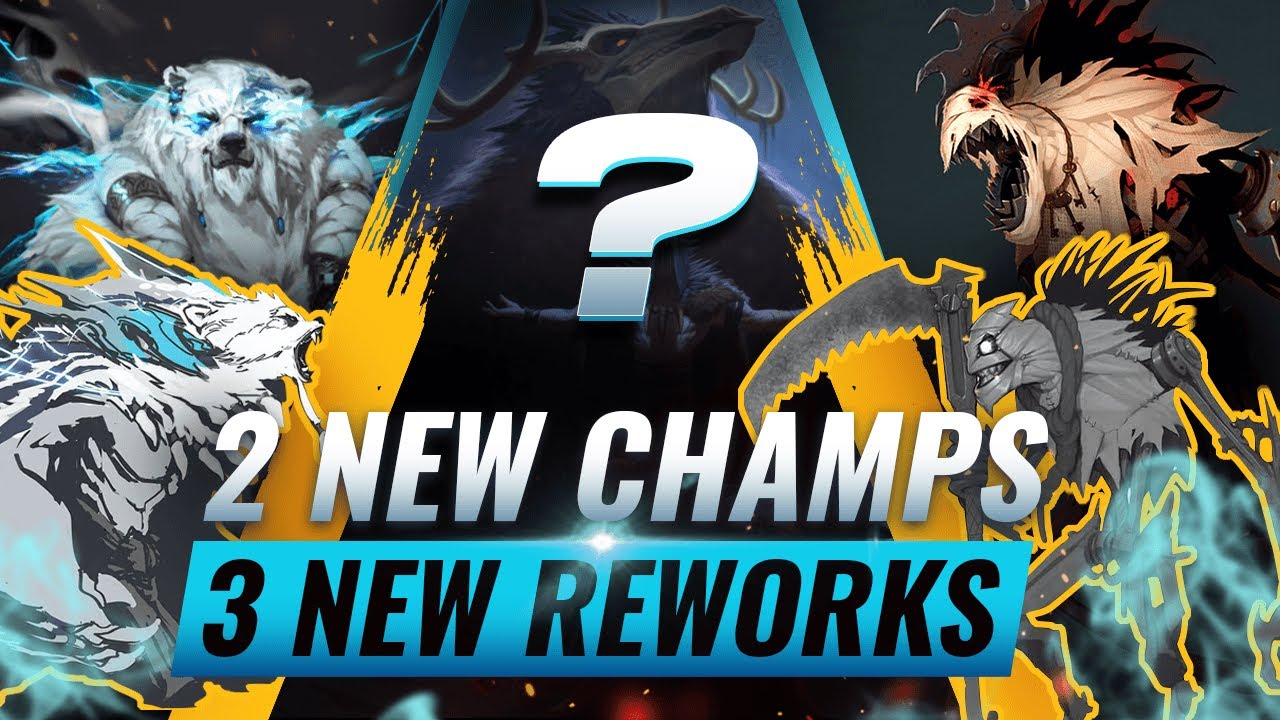 MASSIVE CHANGES: 2 NEW CHAMPIONS + 3 NEW REWORKS UPDATED - League of Legends Season 10 thumbnail