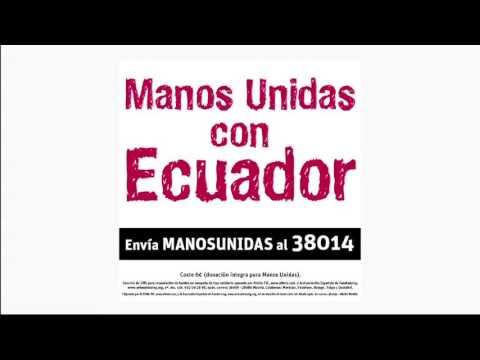 Manos Unidas con Ecuador