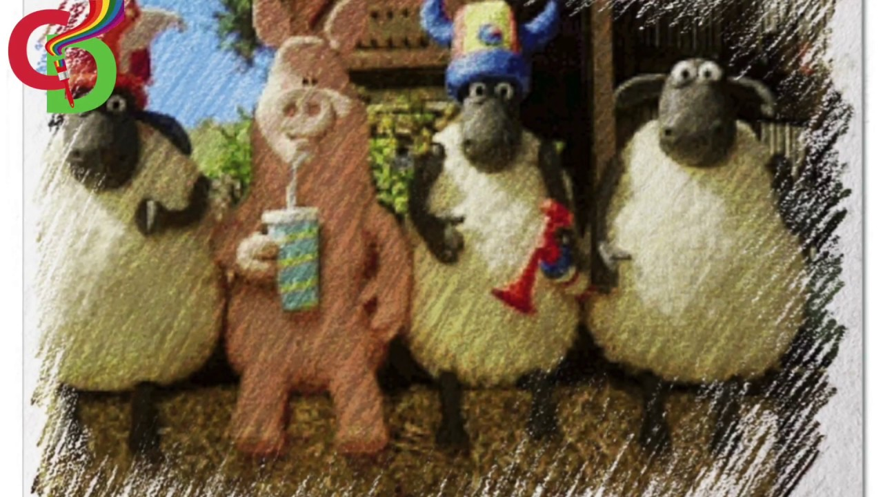 Shaun The Sheep Bitzer Pidsley Cartoon Movie Characters Color Pencil Drawings Video For Childr