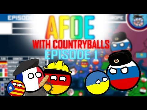 Alternative Future of Europe in Countryballs // Episode 1 // A Winter of Discontent
