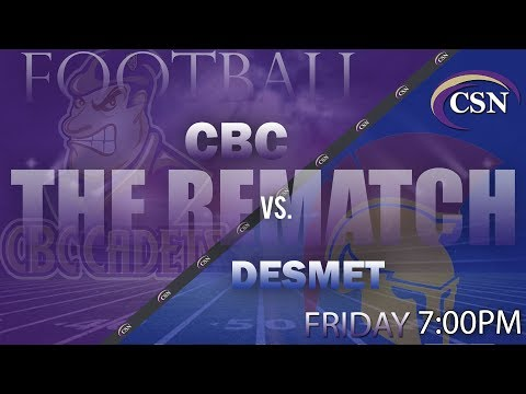 CBC VARSITY FOOTBALL Vs. DESMET