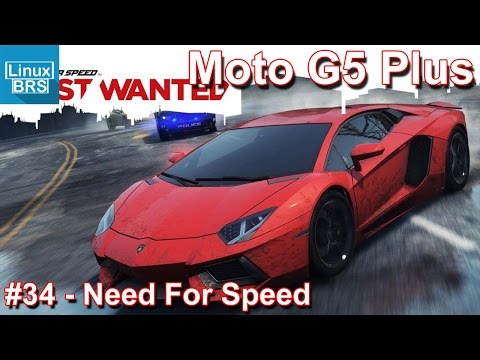 Gameplay Android - Need For Speed Most Wanted - Lenovo Moto G5 Plus