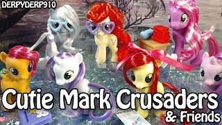 Cutie Mark Crusaders & Friends Collection -- Silver Spoon, Twist -- My Little Pony Toy Review
