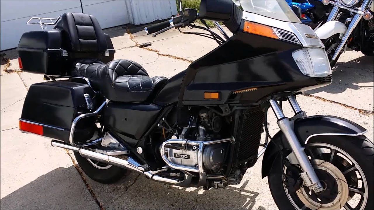1984 Used Honda Gl1200 Interstate For Sale U2052