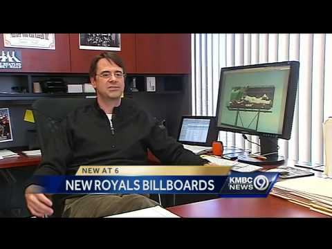 Ad agency explains new eye-catching Royals billboard